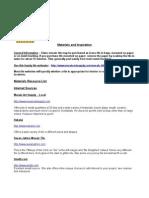 Argenta Mosaics Materials Source List