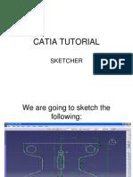 Sketcher CATIA