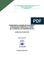 Problematica Agraria de Guatemala