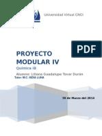 Proyecto Modular 4 Quimica