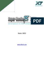 G800V Manual Portuguese