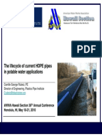 2010 AWWA Life Cycle HDPE in PW Apps Camille Rubeiz