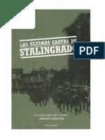 Las Ultimas Cartas de Stalingrado