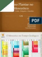 Reino Plantae no Mesozóico 2014.pptx