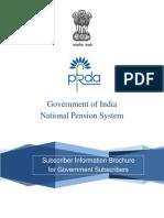 NPS for Govt- Brochure