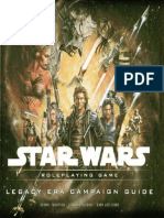 Star Wars Saga Edition - Legacy Era Campaign Guide