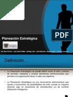 Diapositivas de Planeacion Estrategica
