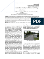Assessment and Reconstruction of Bridges in Trinidad and Tobago