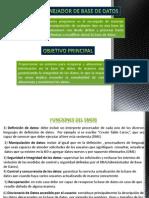 AministracionBD(Analisis)
