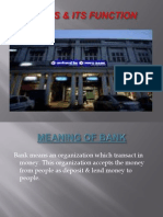 Banks & Its Function