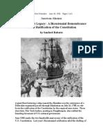 The Federalist Legacy