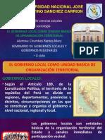 Gobiernos Locales (Diapositivas)