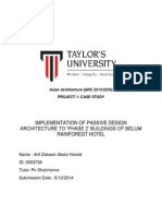 Asian Architecture [ARC 2234] Case Study Paper