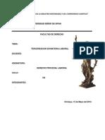 Monografia Terminada de Tercerizacion en Materia Laboral (Patty)