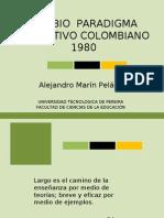 PARADIGMA EDUCATIVO 1980