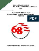 Proposal Kegiatan Hut Ri 68(1)