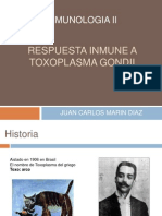 Respuesta Inmune a Toxoplasma Gondii