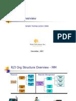 Sample SAP MM Training Material