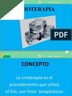 Crioterapia crioterapia