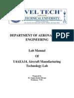 Aero Manufacturing Tech Lab