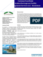 Arabtec Envirogreen Faciltiy Management Services - Case Study