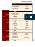 Programacion - X Festival de Cine de Santa Fe de Antioquia - Del 4 al 8 de Diciembre