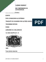Histoire fantastique du célèbre PierrotÉcrite par le magicien Alcofribas; traduite du sogdien par Alfred Assollant by Assollant, Alfred, 1827-1886