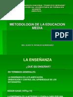La Enseñanza en Educacion Media