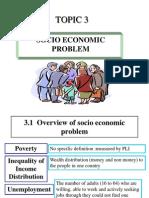 Chapter 3 - Socio economic problem