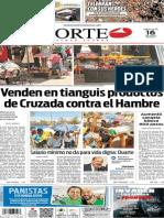Periódico Norte edición del día 16 de julio de 2014