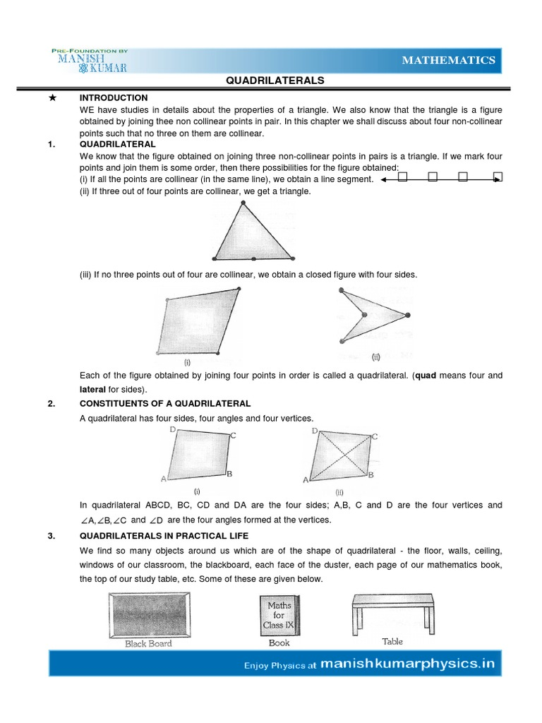 Quadrilateral rectangle triangle ccuart Images