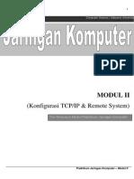Modul 2 - Konfigurasi TCPIP Remote System
