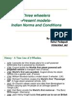 3 Wheel Vehicles