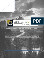 Analyis of the Land Acts May 2012 - Muriithi & Ndonye Advocates.