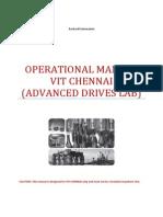 Operational Manual DC Drive