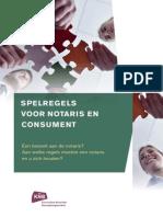 Spelregels Voor Notaris en Consument