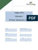 Taller 4 de Cálculo I