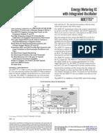 ADE7757 Data Sheet