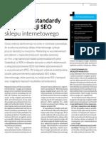 Najnowsze Standardy Optymalizacji SEO Sklepu Internetowego - SEMTEC