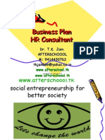 business plan HR consultant