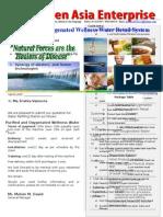 Oxygenized Alkaline Welness Water Refilling System