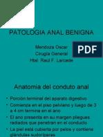 PATOLOGIA ANAL BENIGNA-CLASE