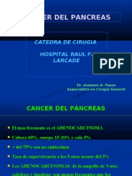 CANCER DEL PANCREAS