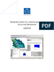 Ansys14 Classic Tutorial Lab1