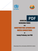 Guidelines on Revolving Funds for Constructing Latrines and Water Connections in Luang Prabang, Lao PDR
