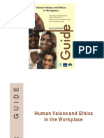 Human Values and Ethics in Workplace - Facilitator Guide