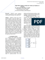 A New Topology of Single Phase Multi-Levelinverter With Less Number Of