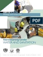Mainstreaming Gender Water and Sanitation