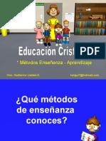 Métodos Enseñanza-Aprendizaje