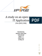 A Study on an Open Source IT Application